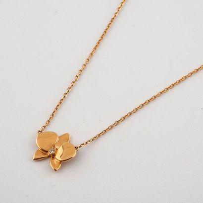 Cartier. Modèle « Caresse d'orchidée ». Collier...