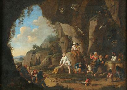 Ecole HOLLANDAISE du XVIIe siécle  suiveur...