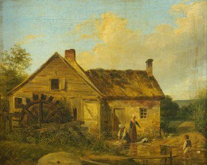 Nicolas Alexandre BARBIER   (Paris 1789 –...