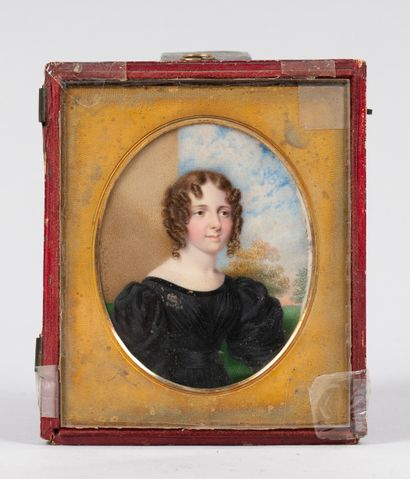 Johann Georg Paul FISCHER (1786-1875)  Portrait...