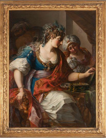 Attribué à Antoine RIVALZ (1667 – 1735)  La...