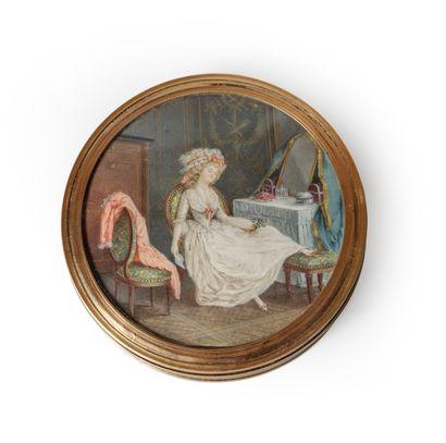 Attribué à Pierre-ANTOINE BAUDOIN (1723-1769)...
