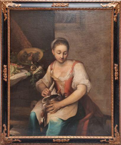 Ecole de l'Italie du NORD XVIIIe siècle  Jeune...