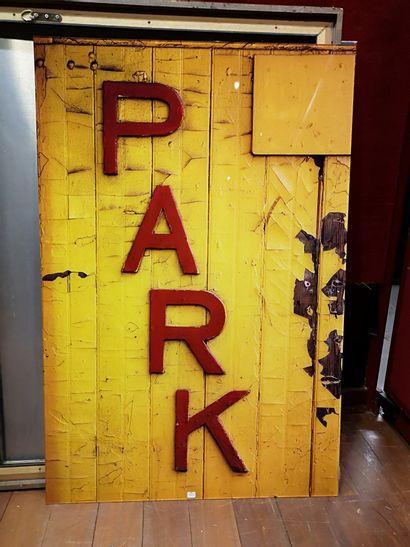 PETER KLASEN  Park, 1981  120 x 80 cm  Photo...