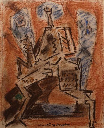 Andre MASSON ( 1896-1987)  En route pour...