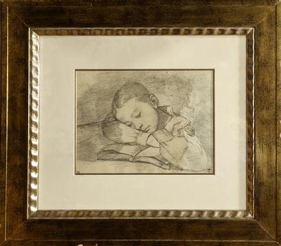 BALTHUS (1908-2001) d'apres.  la sieste  Reproduction...