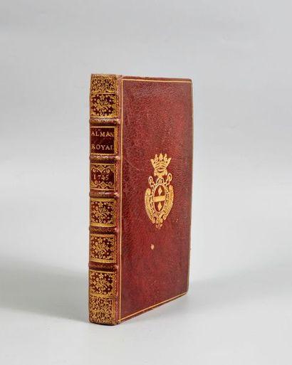 ALMANACH ROYAL, année 1745. Paris, Houry,...