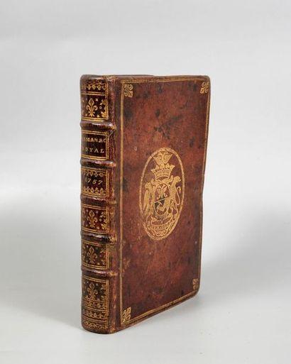 ALMANACH ROYAL, année 1757. Paris, Le Breton,...