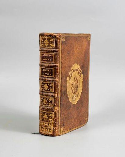 ALMANACH ROYAL, année 1786. Paris, d'Houry,...