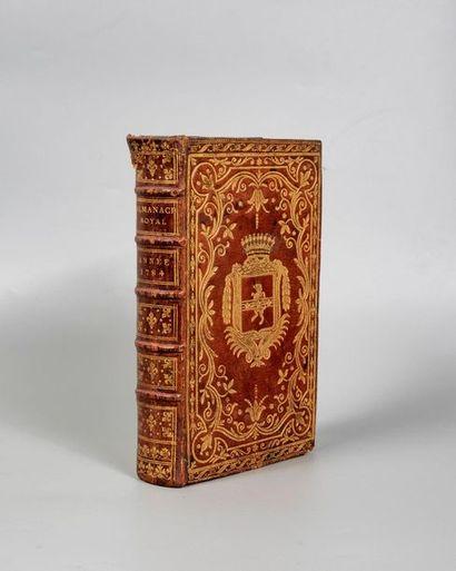 ALMANACH ROYAL, année bissextile 1784. Paris,...