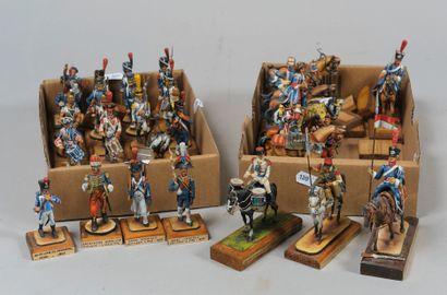 Collection J.P. LEMIRE: deux boites de Cavaliers...