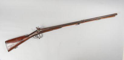 Fusil de chasse à percussion, catégorie 16....