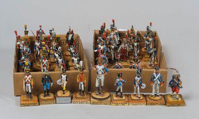 Collection J.P. LEMIRE: deux boites de Fantassins...