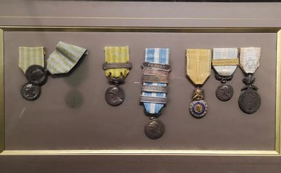Lot médailles coloniales, madagascar, Chine...