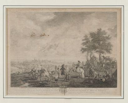 D'après Philips WOUVERMANS (1619-1668) et...