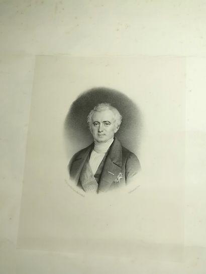 Pochette de gravures dont caricatures, Napoléon,...