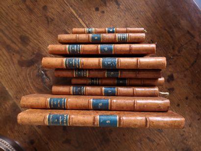 Le journal de Muscon, 9 volumes manuscri...