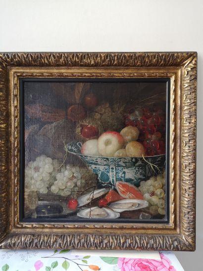 Ecole hollandaise du XVIIe siècle  Nature...