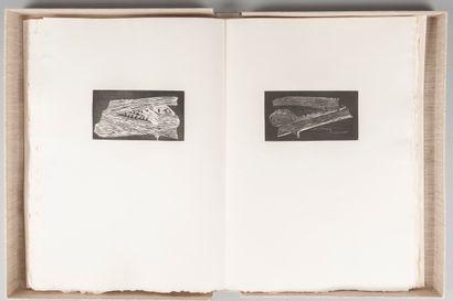 LECUIRE (Pierre). Livre des livres. 2 gravures...