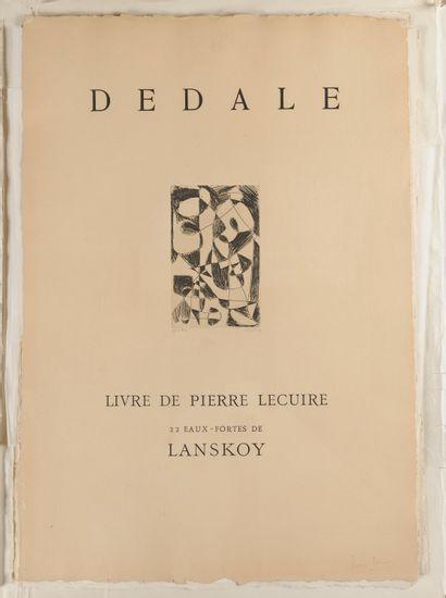 LECUIRE (Pierre). [Dédale. 1960]. Affiches...