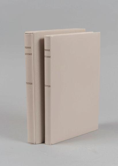 LECUIRE (Pierre). Textes. Paris, Londres,...