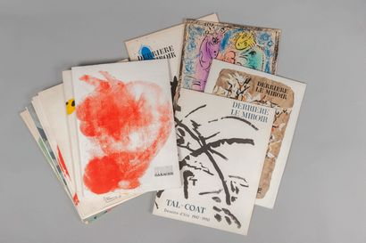 BEHIND THE MIRROR. Set of 12 issues.  1961, Giacometti; 1952, Van de Velde; 1961,...