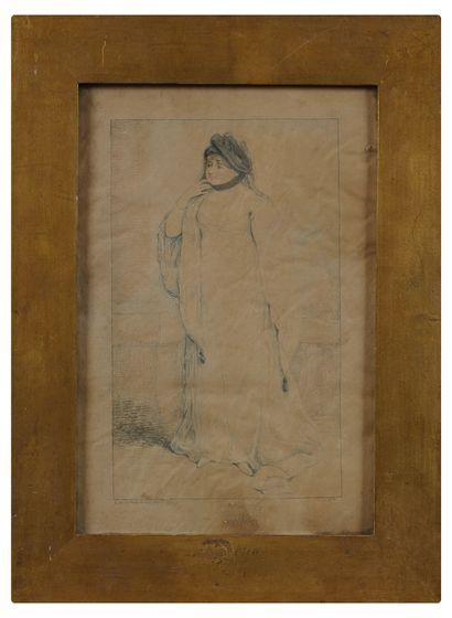 G. Kirkpatrick Sharp  Hesitation  Watercolour,...