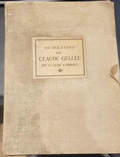 50 dessins de Claude Gellée, dit Claude Lorrain...