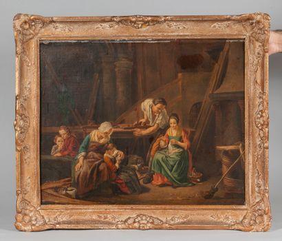 Ecole FRANCAISE du XIXe siècle, suiveur de...