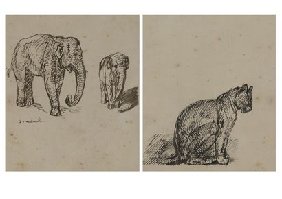 According to STEINLEN  Sitting cat  Reproduction....