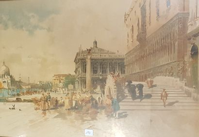 Modern School, View of Venice, reproduct...