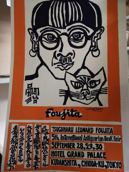 affiche defoujita, Gabriel PARIS  78,5 x...