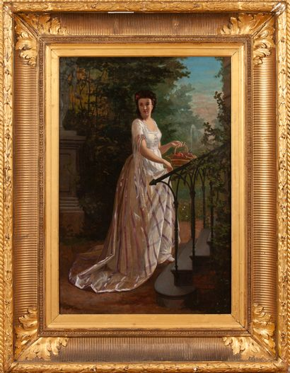 AGAPIT STEVENS. 1849 Brussels - 1924 Watermael...