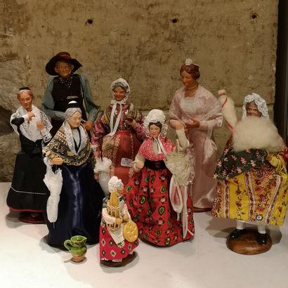Collection de poupée en celluloid