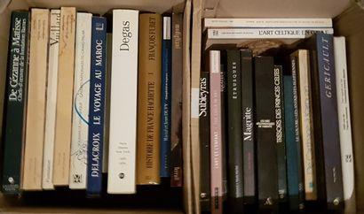 Ensemble de livres d'art et d'Histoire