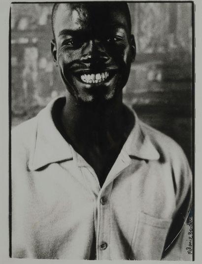Mélanie Bordelle (XXe)  Jimmy smiling  Tirage...