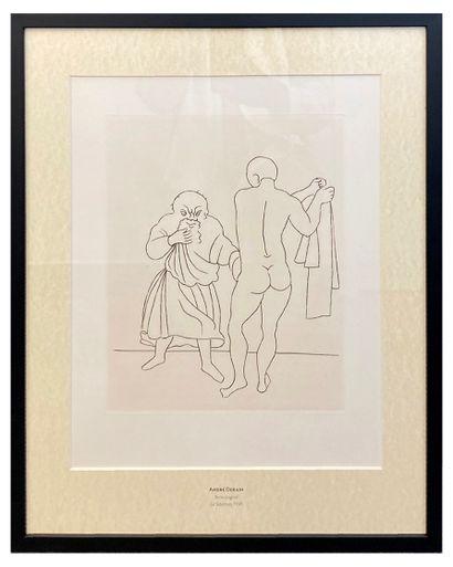 André Derain (1880-1954)  Le Satyricon  Gravure...