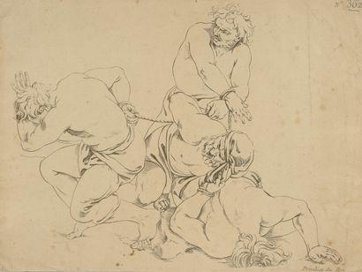 D'après Sebastien Leclerc (1634-1714)  Académies...