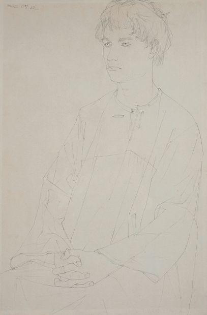Michel CIRY (1919-2018)  Portrait de jeune...