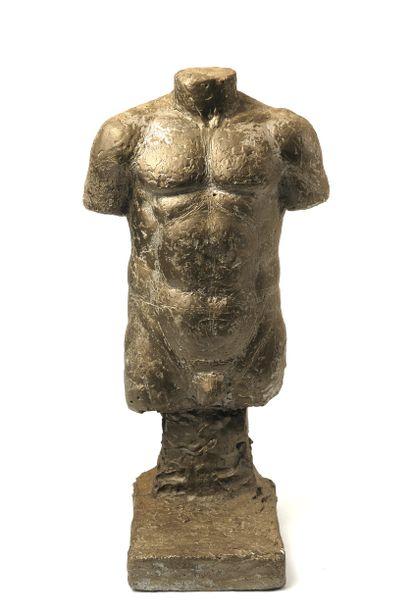 Albert Navarra (1927-2019) Buste d'homme...