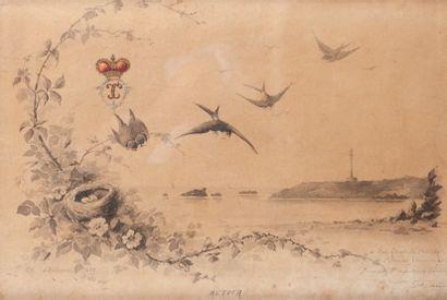 Marcel Jules Gingembre d'Aubépine (1843-1893)...