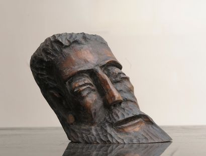 Emilio TORRES (né en 1922)  Christ  Bois...