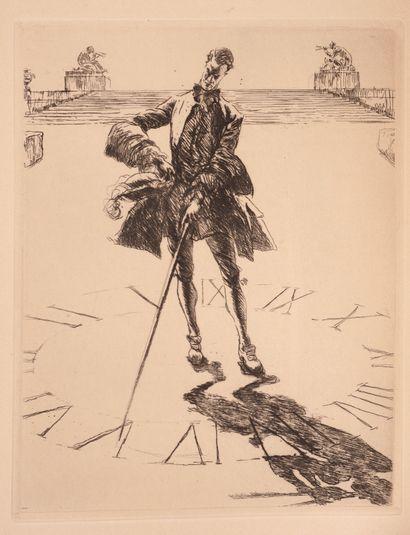 Henri de REGNIER, la canne de Jaspe, exemplaire...