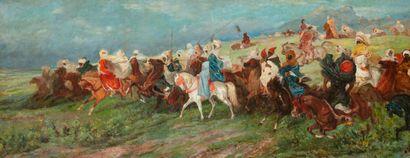 Dans le goût de Gustave Guillaumet (1840-1887),...