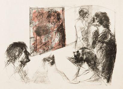 ENAV Bension (1925-2007), Ensemble de lithographies...