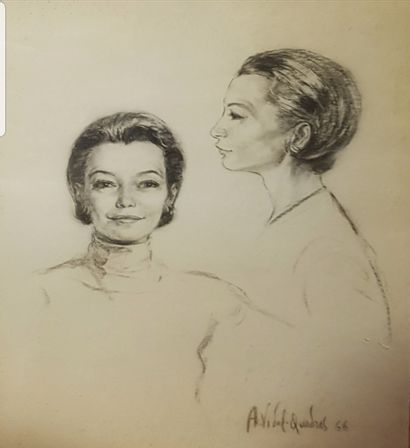 Vidal Quadras  Double portrait de Madame...