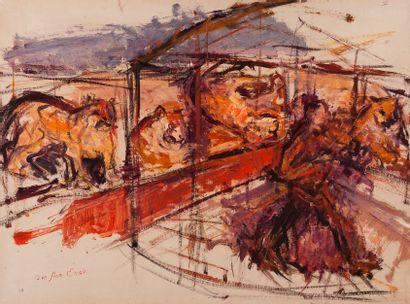 ENAV Bension (1925-2007),Cirque d'Hiver,...