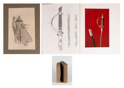 Jacques VILLON (1875-1963)  Cent croquis,...