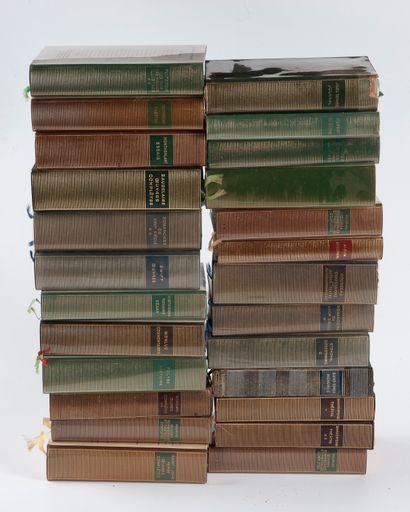 Pléiade  Ensemble de 25 volumes