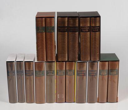Pléiade  Ensemble de volumes de Littérature...